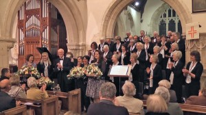 Chedworth Singers 2012 concert